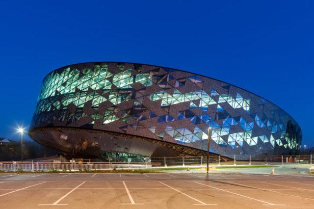 revestimiento de fachadas de vidrio - Edificio Orona